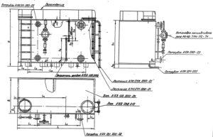 Чертежи на прямоугольный бак А16В по серии