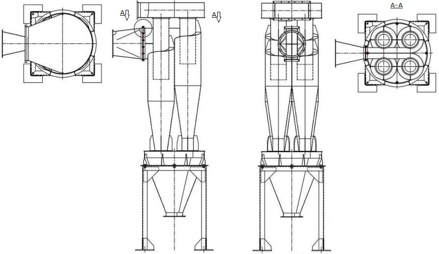 Батарейные установки У21-ББЦ
